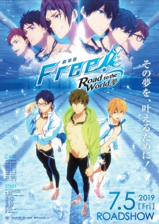 Free! Pelicula 3: Road to the World - Yume (Sub Español)