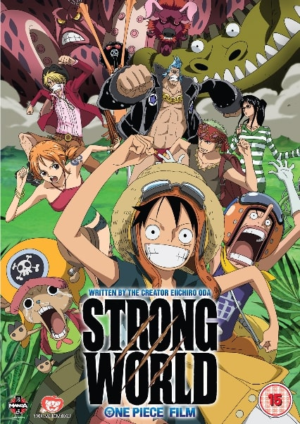 One Piece Pelicula 10: Strong World (Sub Español)
