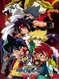 Bakuten Shoot Beyblade G Revolution (Audio Latino)